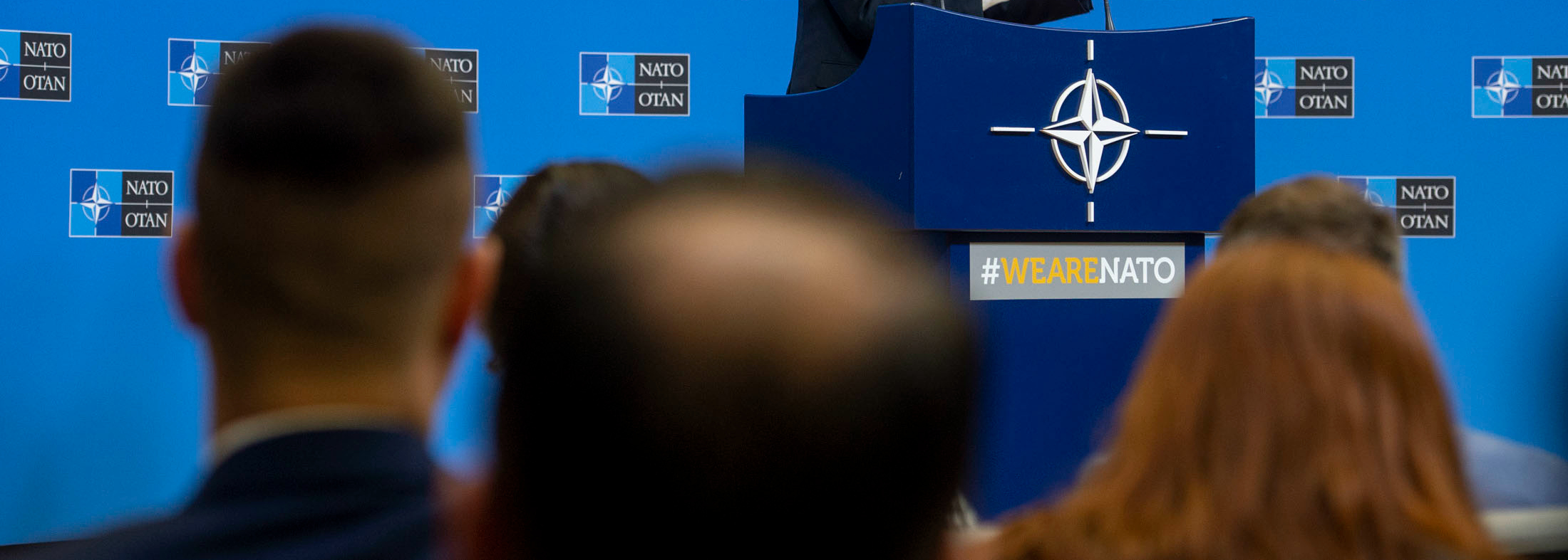 Press conference by NATO Secretary General Jens Stoltenberg ahead of the meetings of NATO Defence Ministers at NATO headquarters on 13 and 14 February 2019