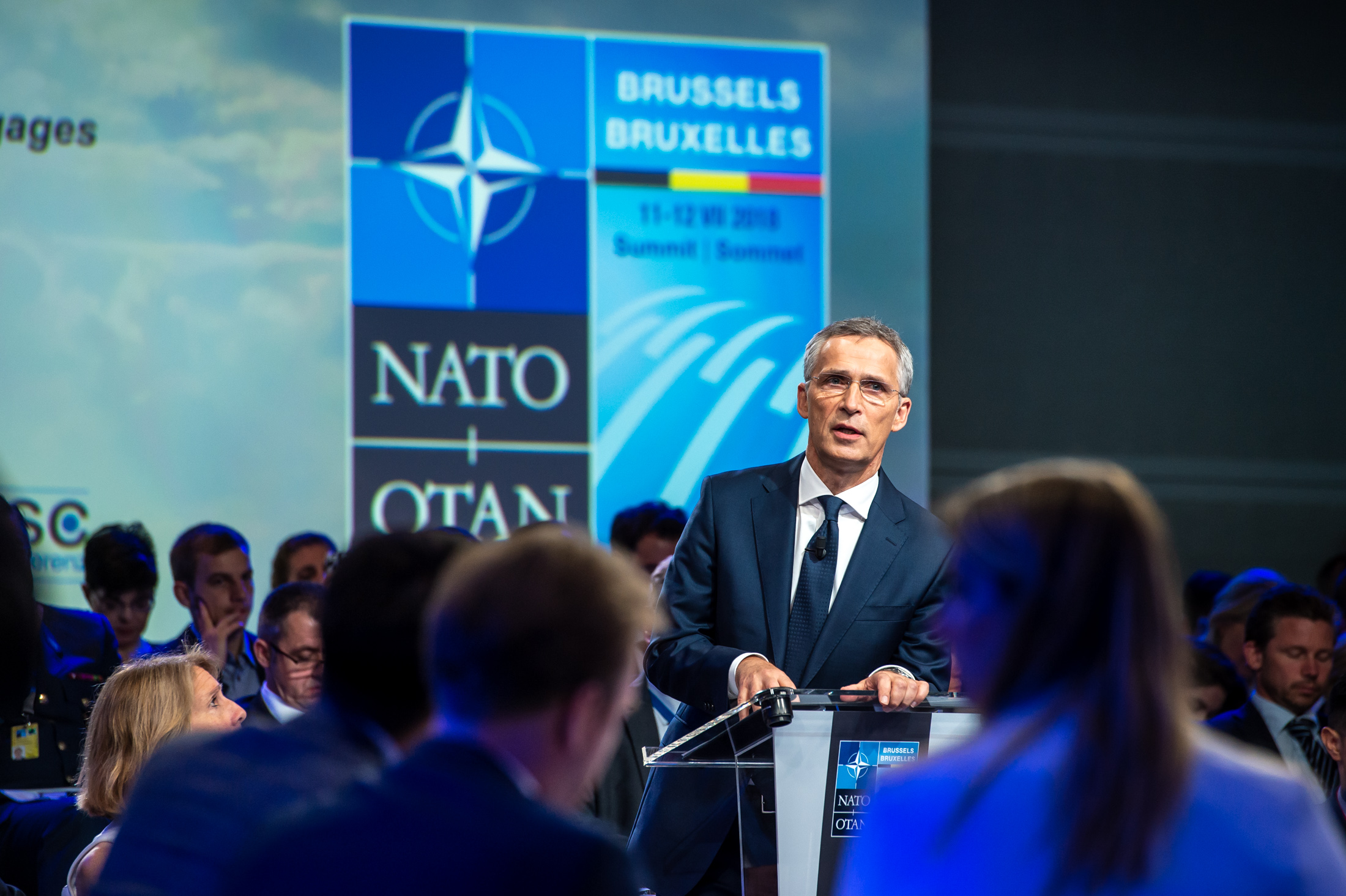 Address by NATO Secretary General Jens Stoltenberg at the Security Conference: NATO Engages - The Brussels Sumnmit Dialogue
