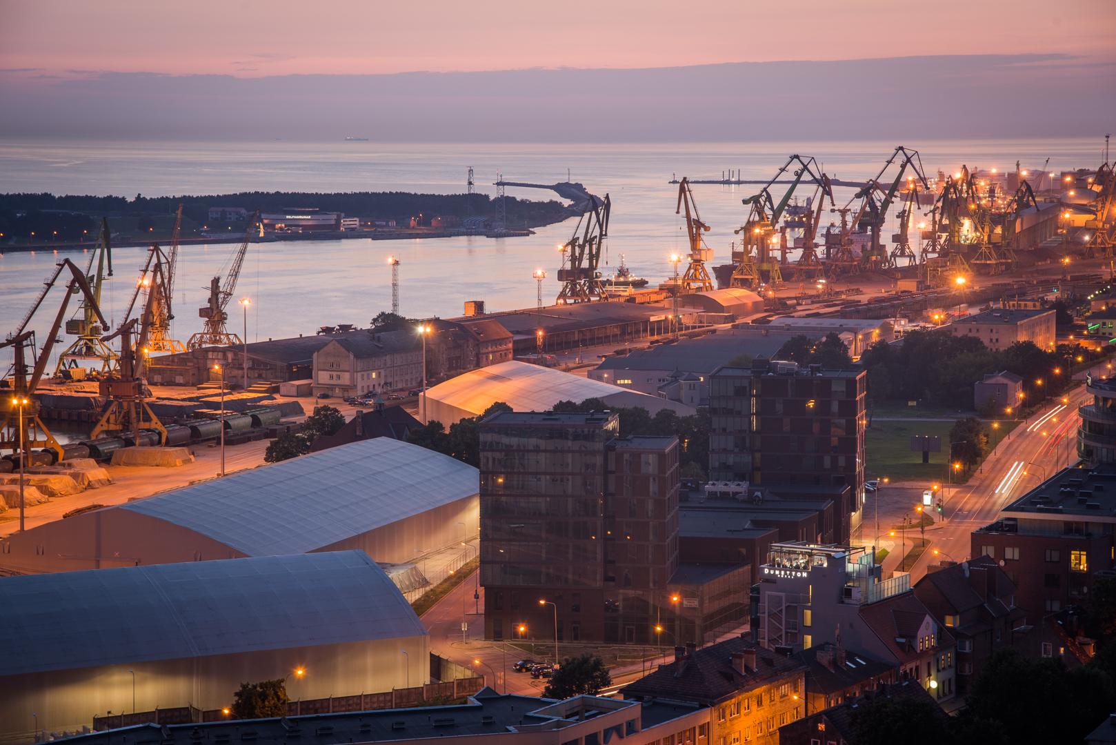The_port_of_Klaip-ùda