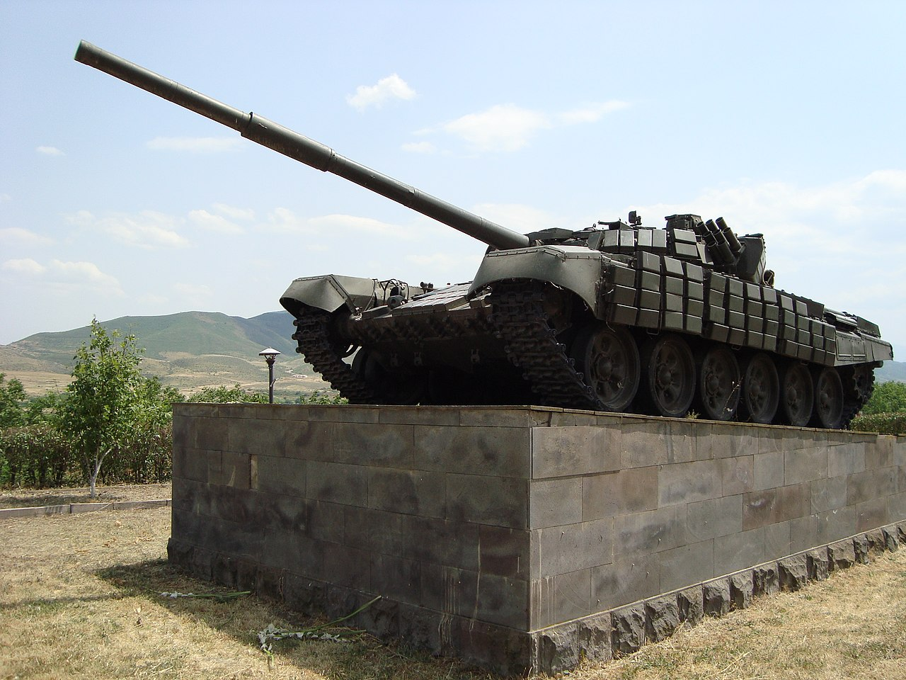 Credit: Tank Monument - Near Mayraberd (Askeran) - Nagorno-Karabakh, Adam Jones