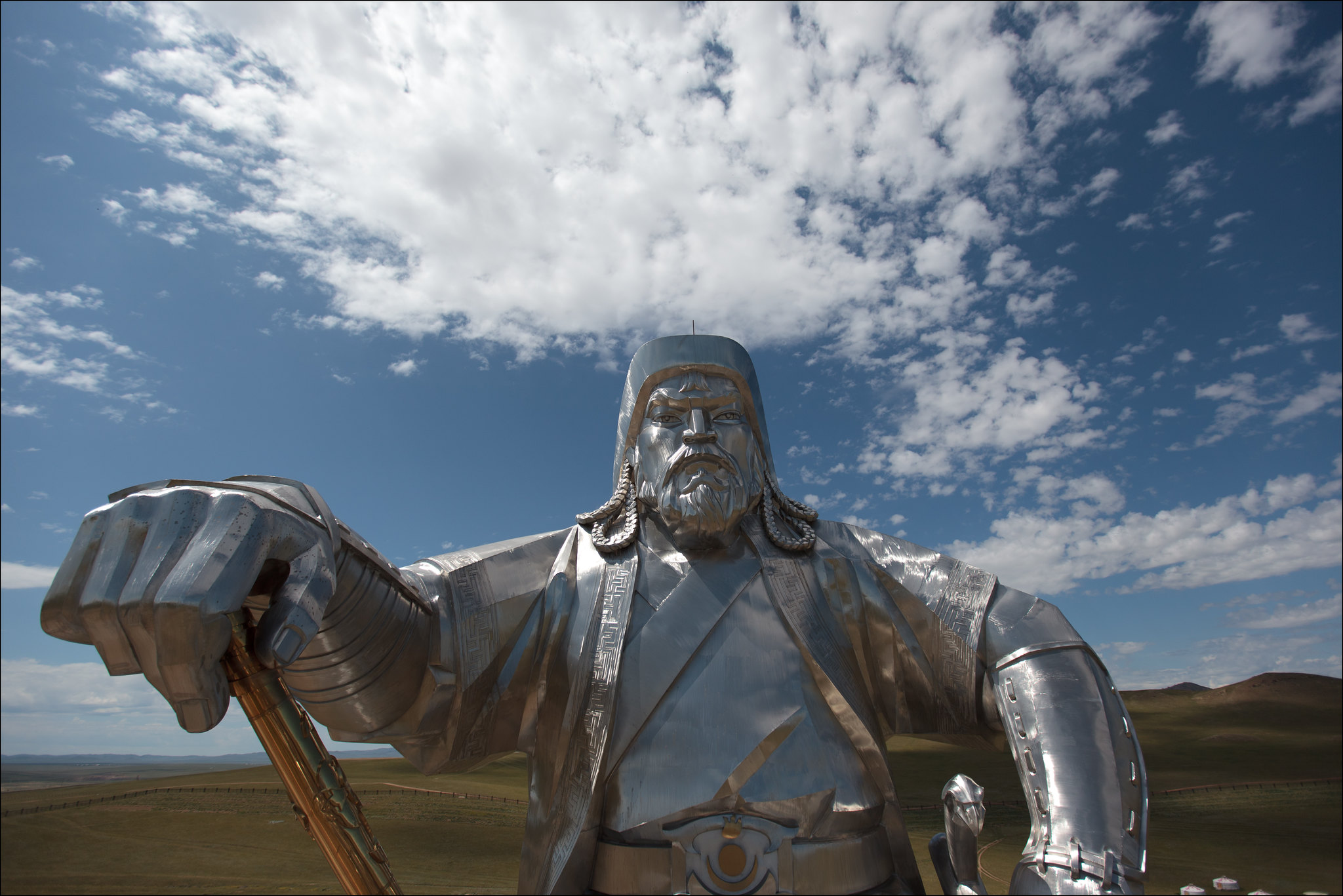 Photo: Giant statue of Genghis Khan. Credit: Ludovic Hirlimann, Flickr.