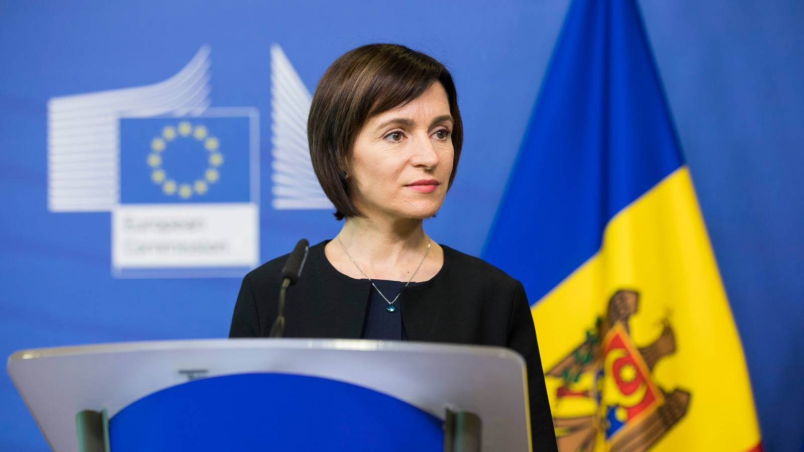 Photo: Maia Sandu visiting the European Commission as Prime Minister on July 5, 2019. Credit: Government of the Republic of Moldova