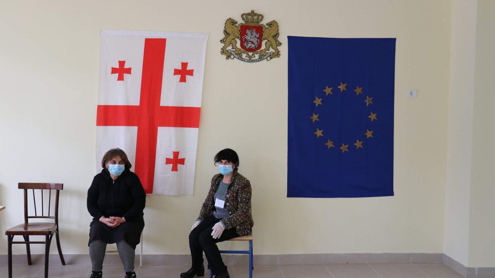 Photo: Polling station in Tbilisi, 31 October 2020. Credit: OSCE PA