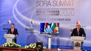 Borisov and Zaev Summit