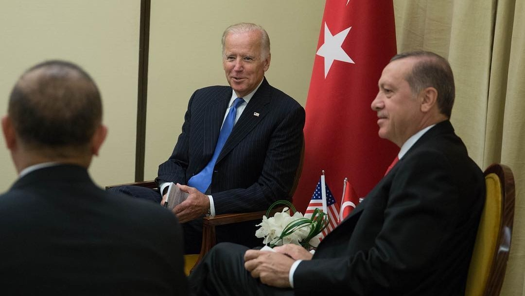 Photo: Vice President Biden meet with President Erdogan of Turkey at the Untied Nations General Assembly, September 22, 2016. Credit: White House