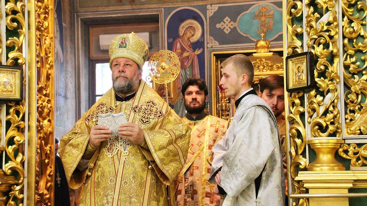 Photo: Metropolitan Vladimir at the Nativity Cathedral in Chisinau. Credit: The Metropolitan Church of Chisinau and All Moldova