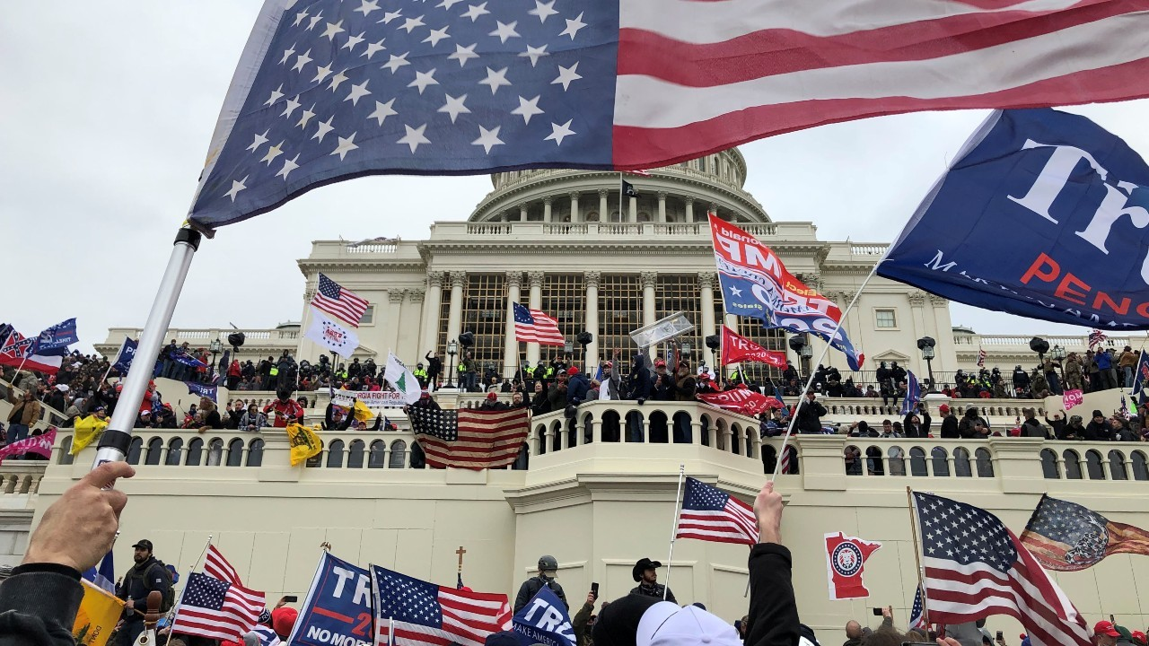 Photo: Supporters of U.S. President Donald Trump occupy the U.S. Capitol Building in Washington, U.S., January 6, 2021. Credit: Thomas P. Costello/USA TODAY via REUTERS
