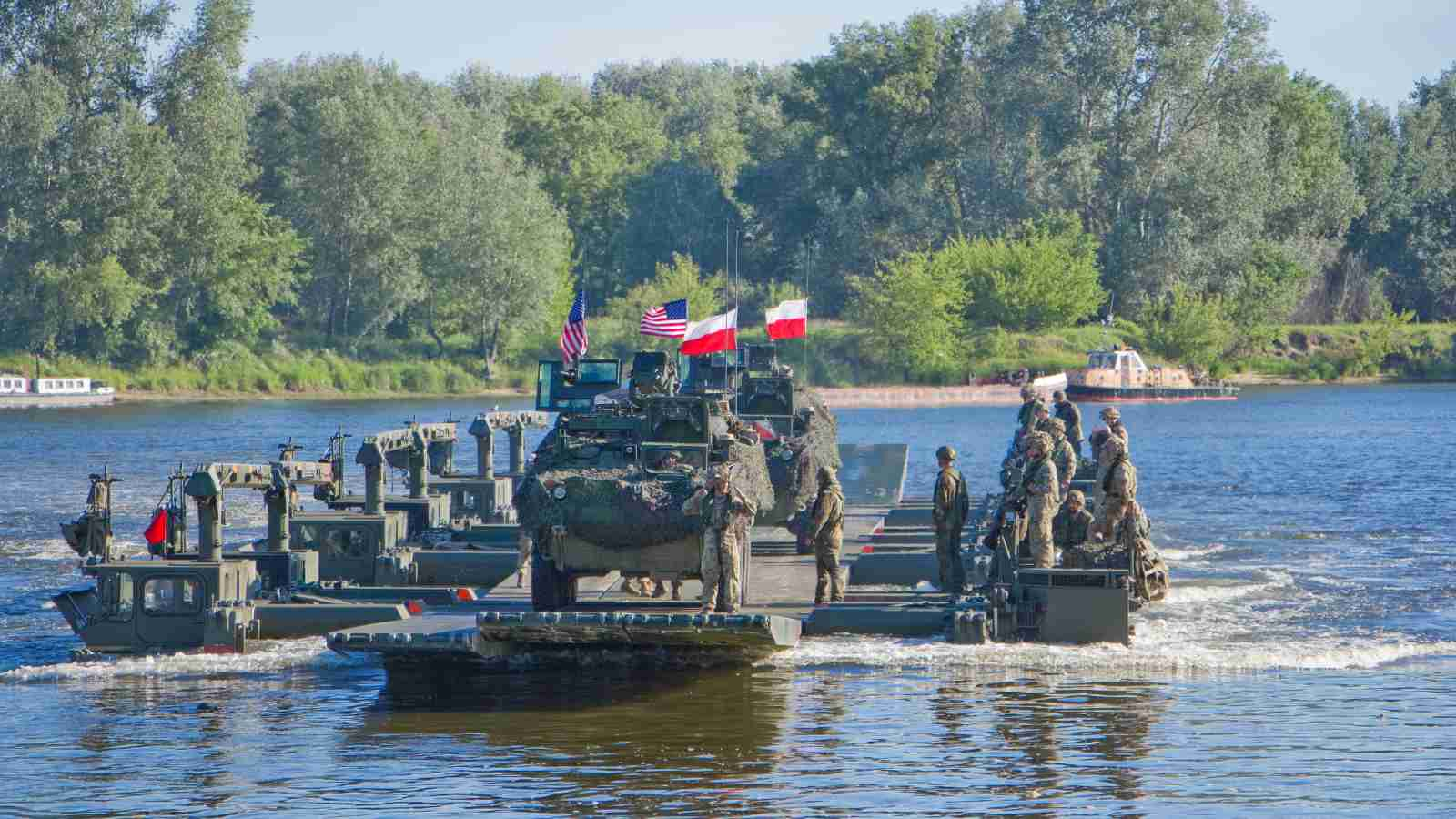 Photo: Joint river crossing exercise. Credit: U.S. Army Europe.