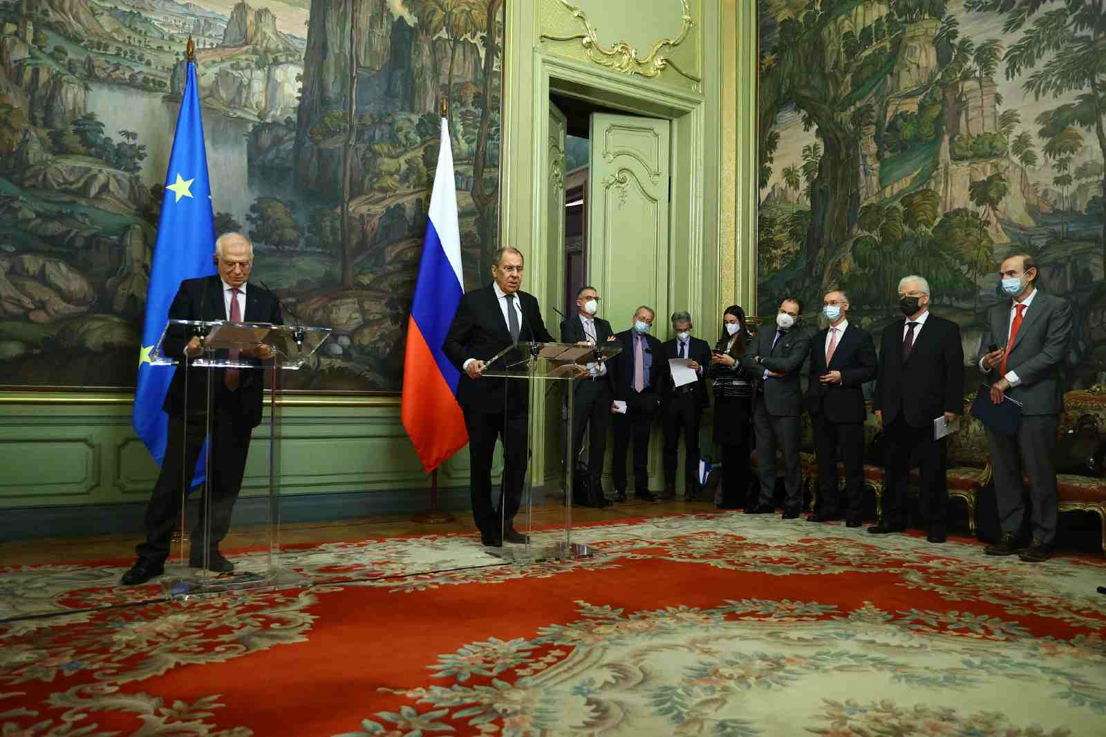 Foreign Minister Sergey Lavrov's remarks and answers to media questions at a joint news conference following talks with High Representative of the European Union for Foreign Affairs and Security Policy and Vice President of the European Commission Josep Borrell, Moscow, February 5, 2021