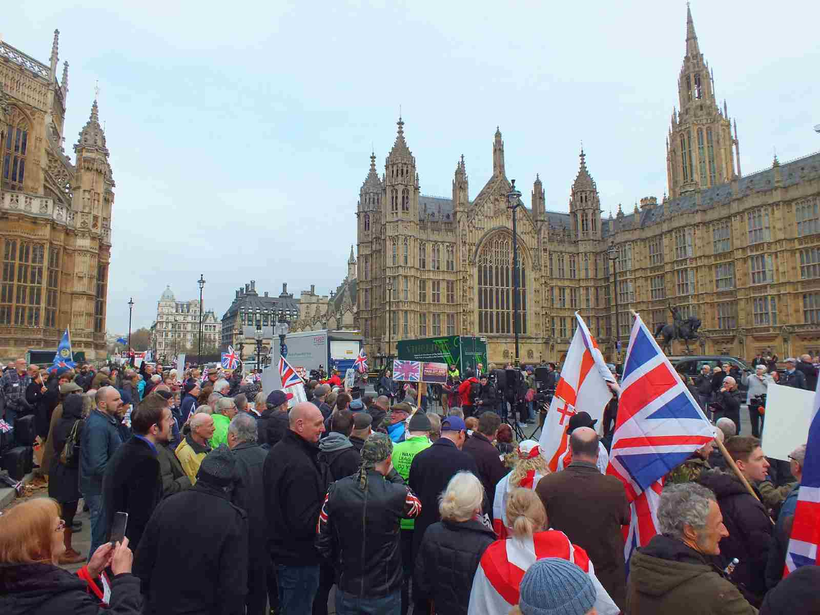 Brexit Rally outside Parliament November 23, 2016