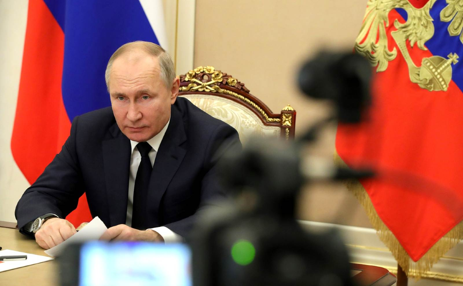 Russian President Vladimir Putin held a meeting via videoconference, during which the situation in the banking sector and the financial market at the end of 2020, as well as issues of further development of the banking sector, were discussed. February 1, 2021