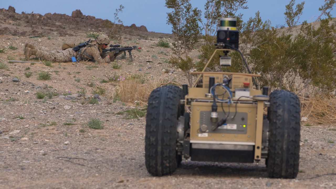 Photo: Image from Defense Advanced Research Projects Agency's (DARPA) Squad X Core Technologies Program. Credit: DARPA