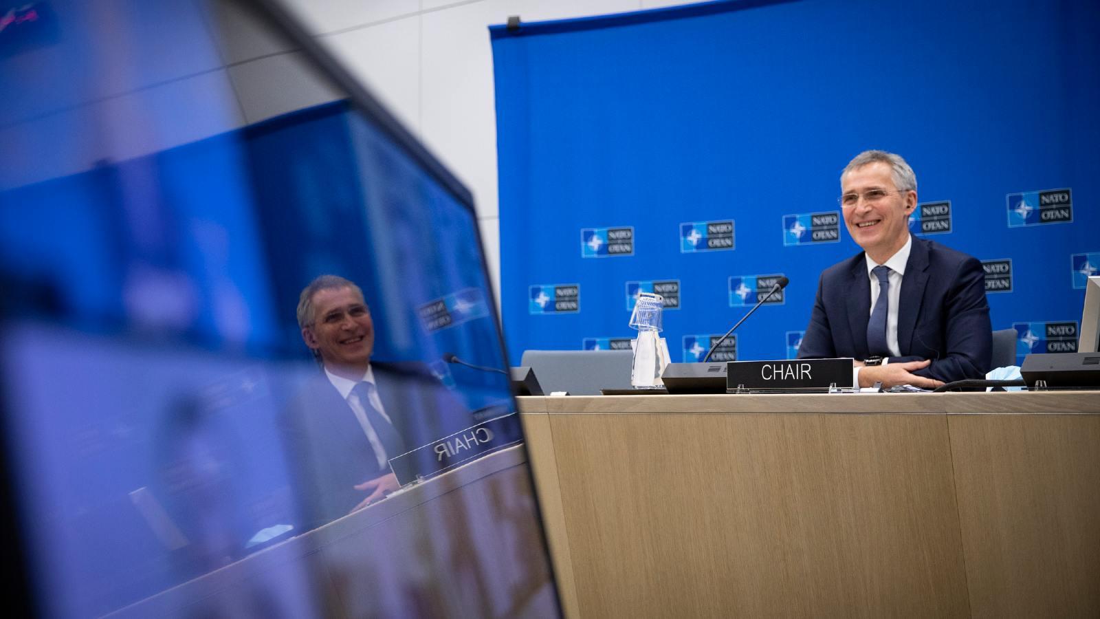 NATO Secretary General Jens Stoltenberg. November 25, 2020