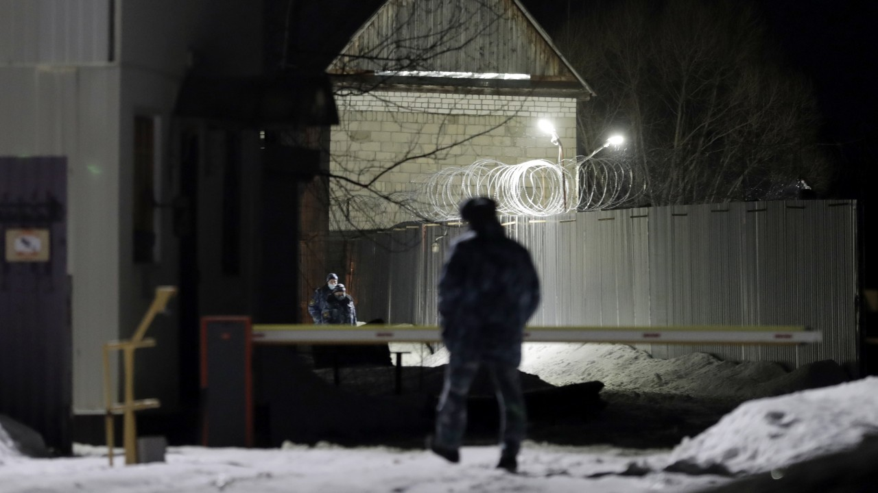 Photo: VLADIMIR REGION, RUSSIA - FEBRUARY 27, 2021: The territory of the medium-security penal colony No 2 in Russia's Vladimir Region where Alexei Navalny will supposedly serve time. Credit: Mikhail Metzel/TASS.