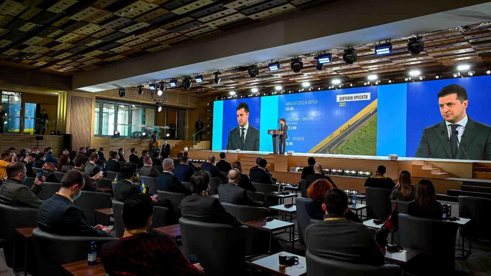 "Participation in the All-Ukrainian Forum ""Ukraine 30. Infrastructure"" February 22, 2021"