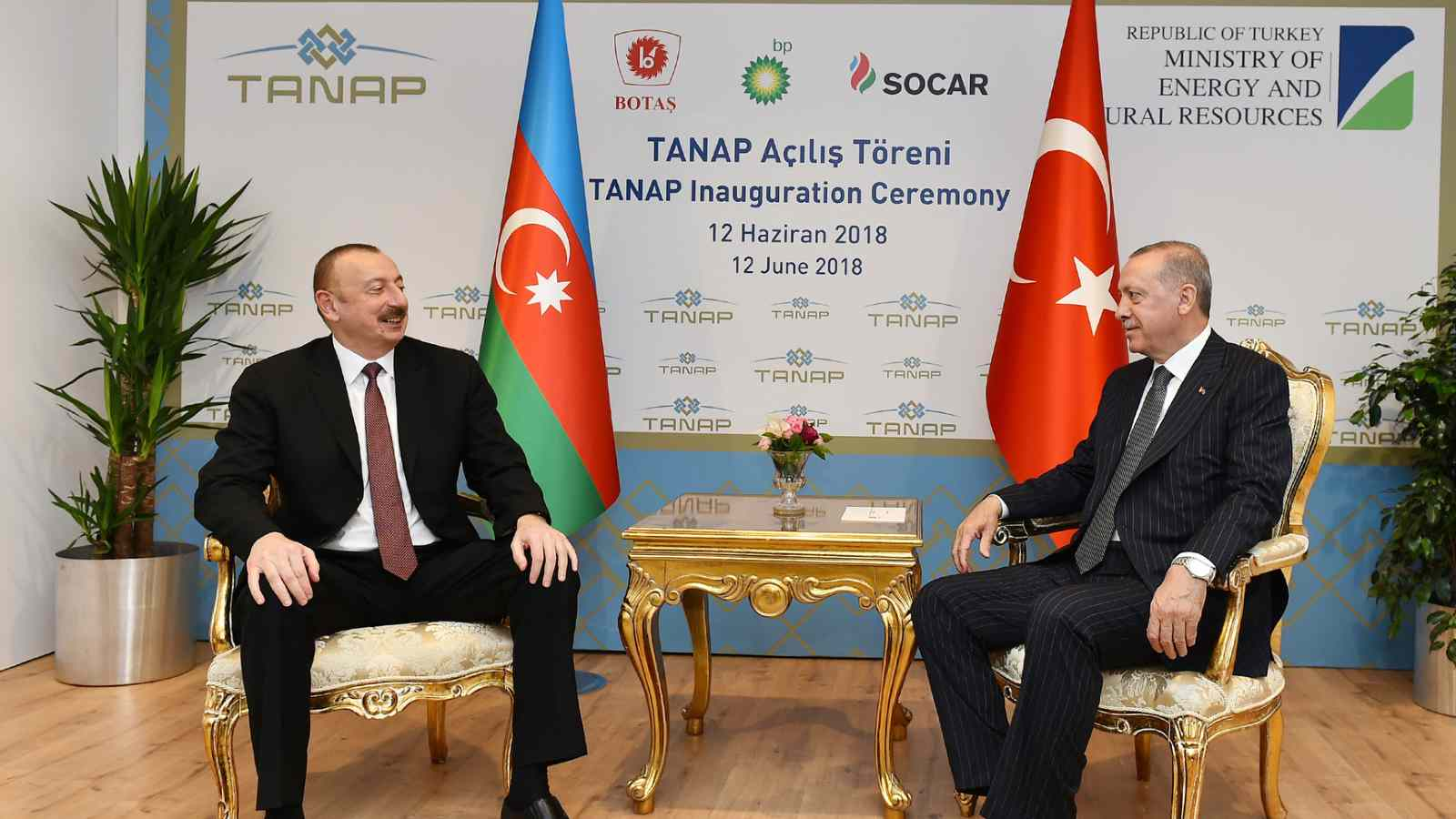 Photo: Ilham Aliyev met with Turkish President Recep Tayyip Erdogan in Eskisehir. June 8, 2018. Credit: Wikimedia Commons