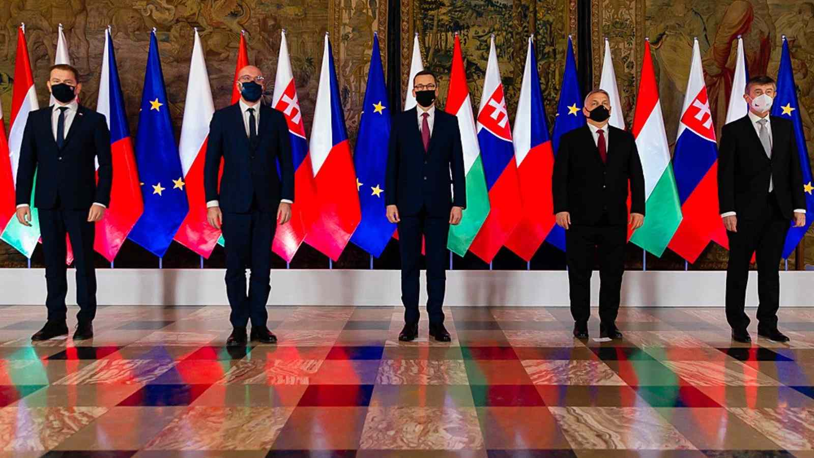 Photo: Visegrad Group delivers specifics at Anniversary Summit. Credit: Prime Minister of Poland. Krystian Maj/KPRM