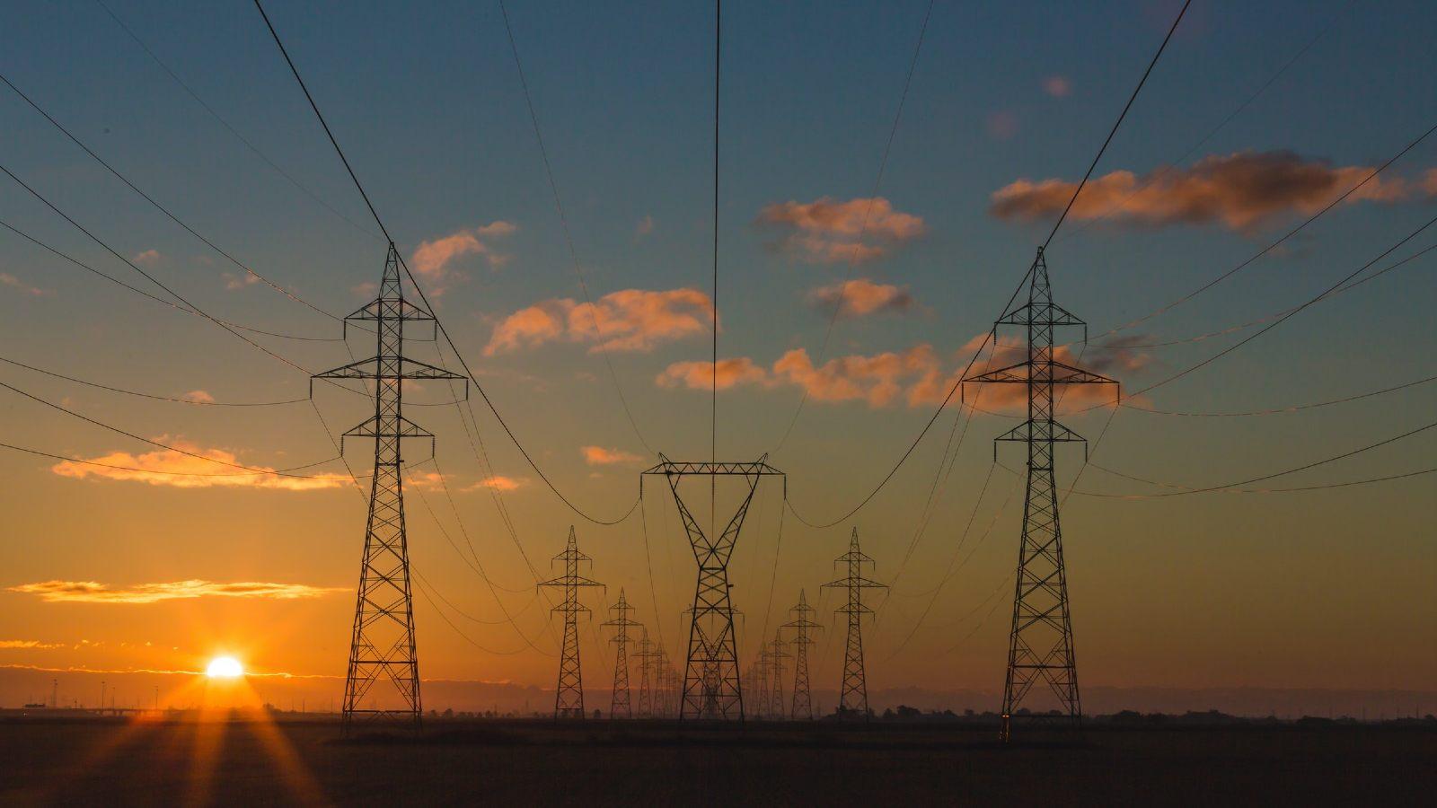 Photo: Power pylons. Credit: Matthew Henry/Unsplash