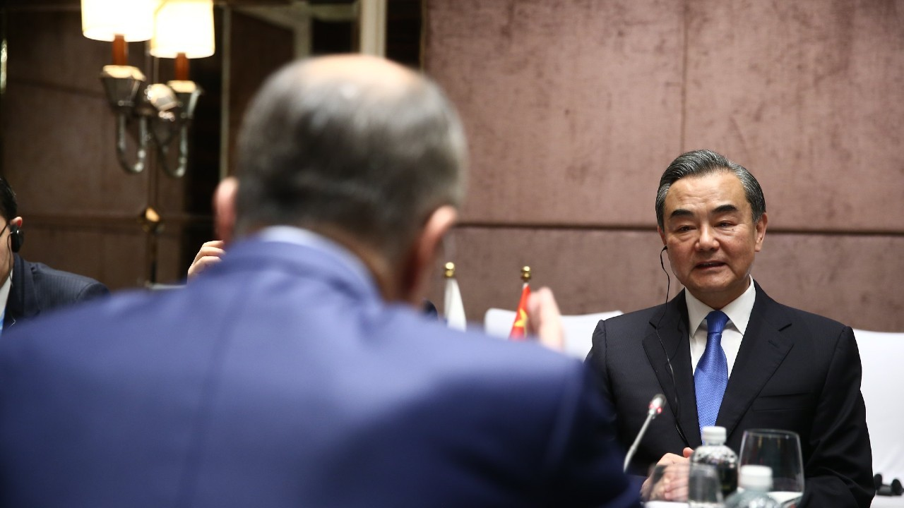 Photo: Russian Foreign Minister Sergey Lavrov met with Foreign Minister of China Wang Yi on the sidelines of ASEAN ministerial events, Singapore, August 2, 2018 Credit: Russian Ministry of Foreign Affairs