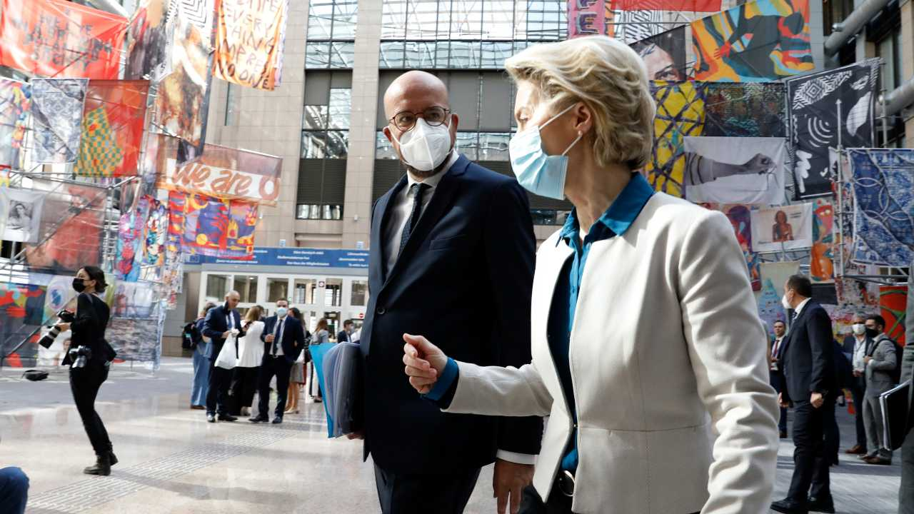 Photo: Charles Michel, President of the European Council, and Ursula von der Leyen, President of the European Commission. Credit: European Council