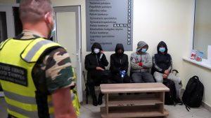 Lithuanian Border migrants
