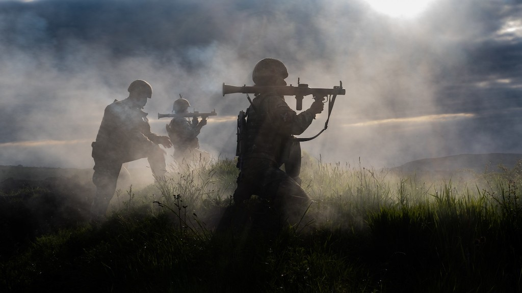 Photo: Romanian soldiers execute a live-fire drill with rocket-propelled grenades during exercise Steadfast Defender 2021.   Steadfast Defender 2021 is a NATO-led exercise involving over 9,000 troops from more than 20 NATO Allies and partners. The objective is to ensure that NATO forces are trained, able to operate together and ready to respond to any threat from any direction. Credit: NATO.