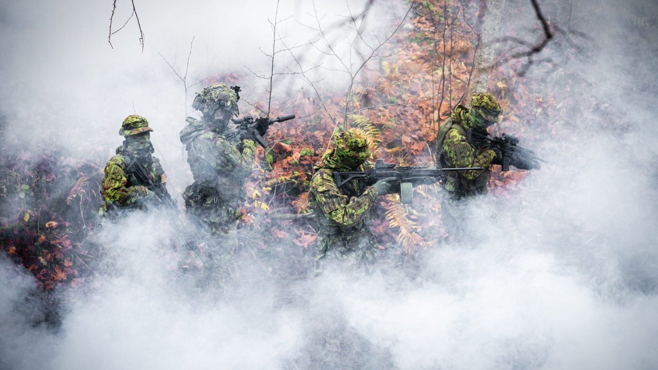 Photo: Estonian Defence Forces on exercise. Credit: Estonian Defence Forces