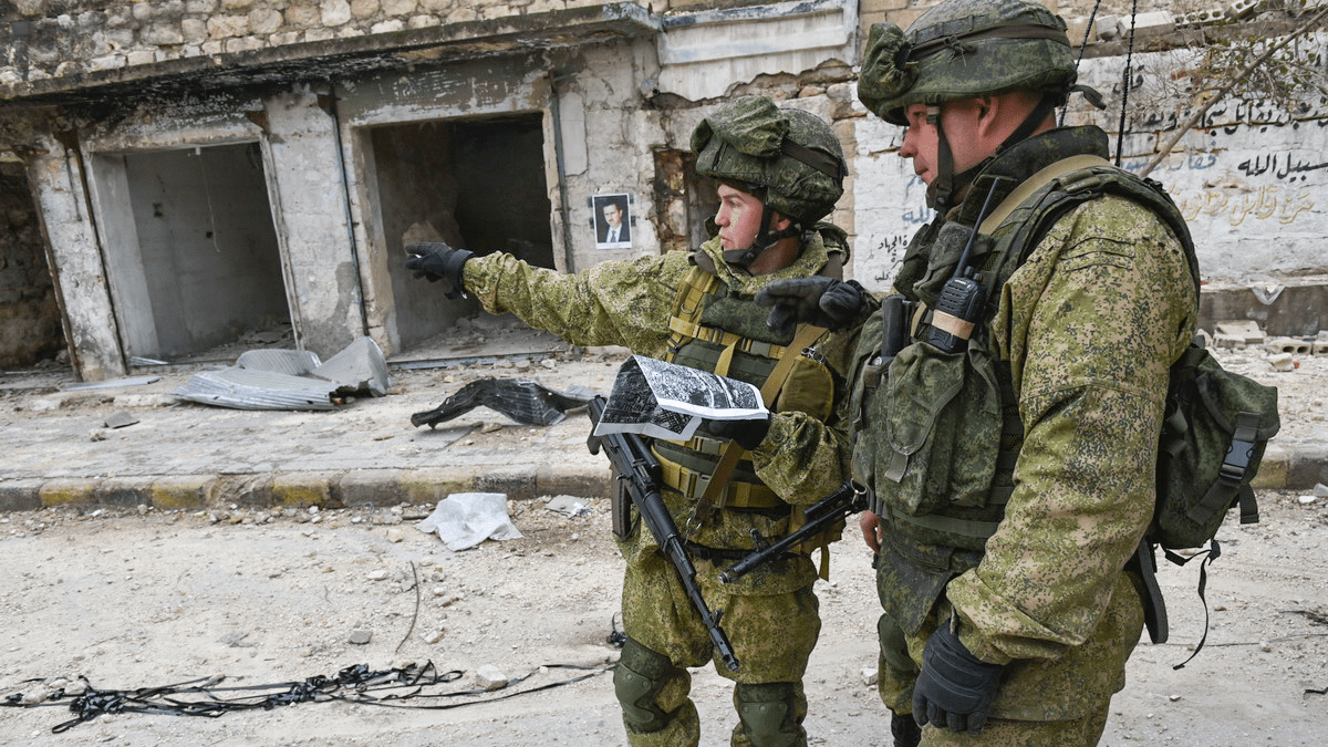 Image: International Mine Action Center of the Russian Ministry of Defense in Aleppo. Credit: Ministry of Defence of the Russian Federation.