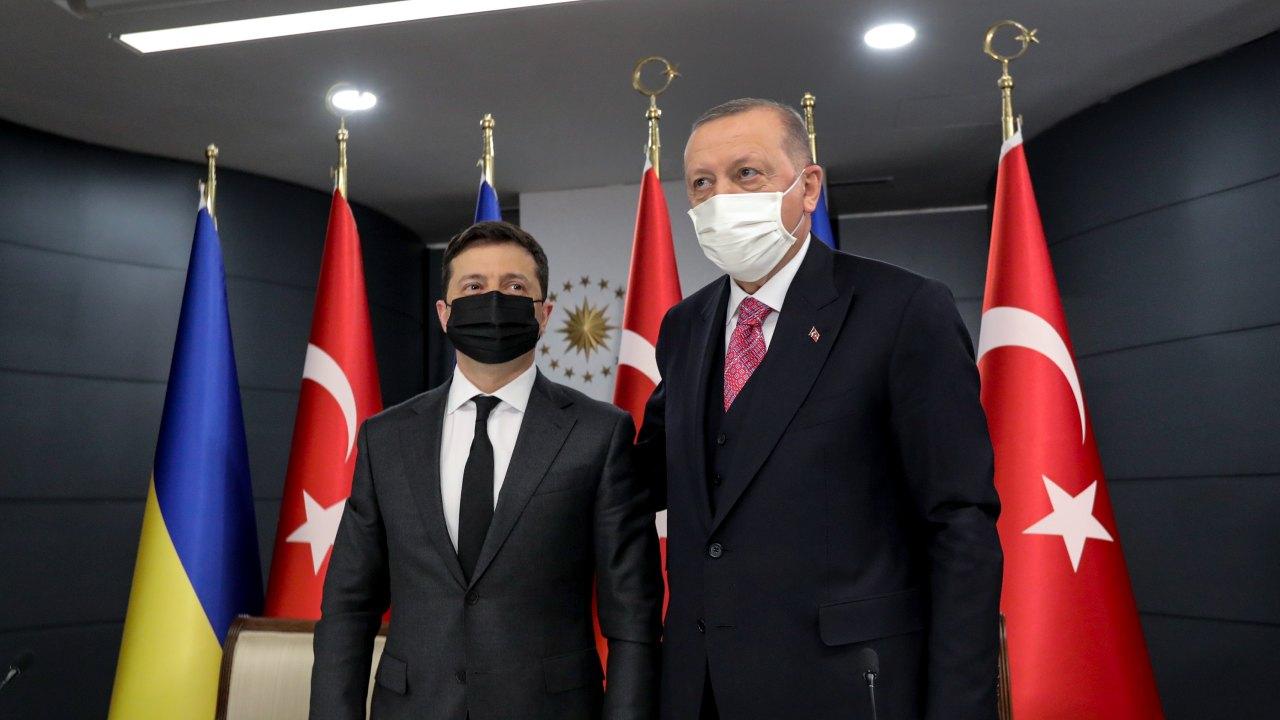 Photo: President of Ukraine Volodymyr Zelensky visits President Recep Tayyip Erdoğan in Turkey. Credit: President of Ukraine